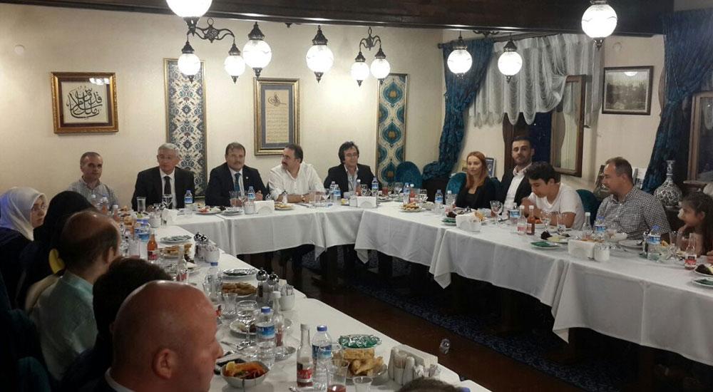 Ankara'da Yaşayan Batı Trakya Türkleri İftarda Buluştu