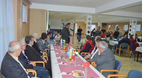 Kuzey Hollanda'da yaşayan Türkler iftar sofrasında buluştu