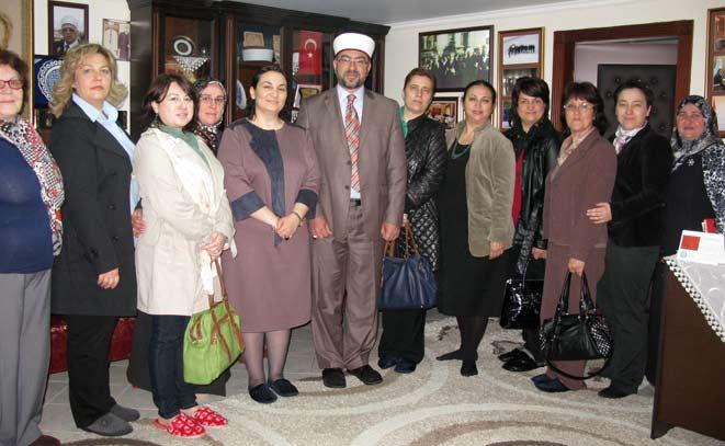 Batı Trakya Kadın Platformu İskeçe Müftülüğünü ziyaret etti