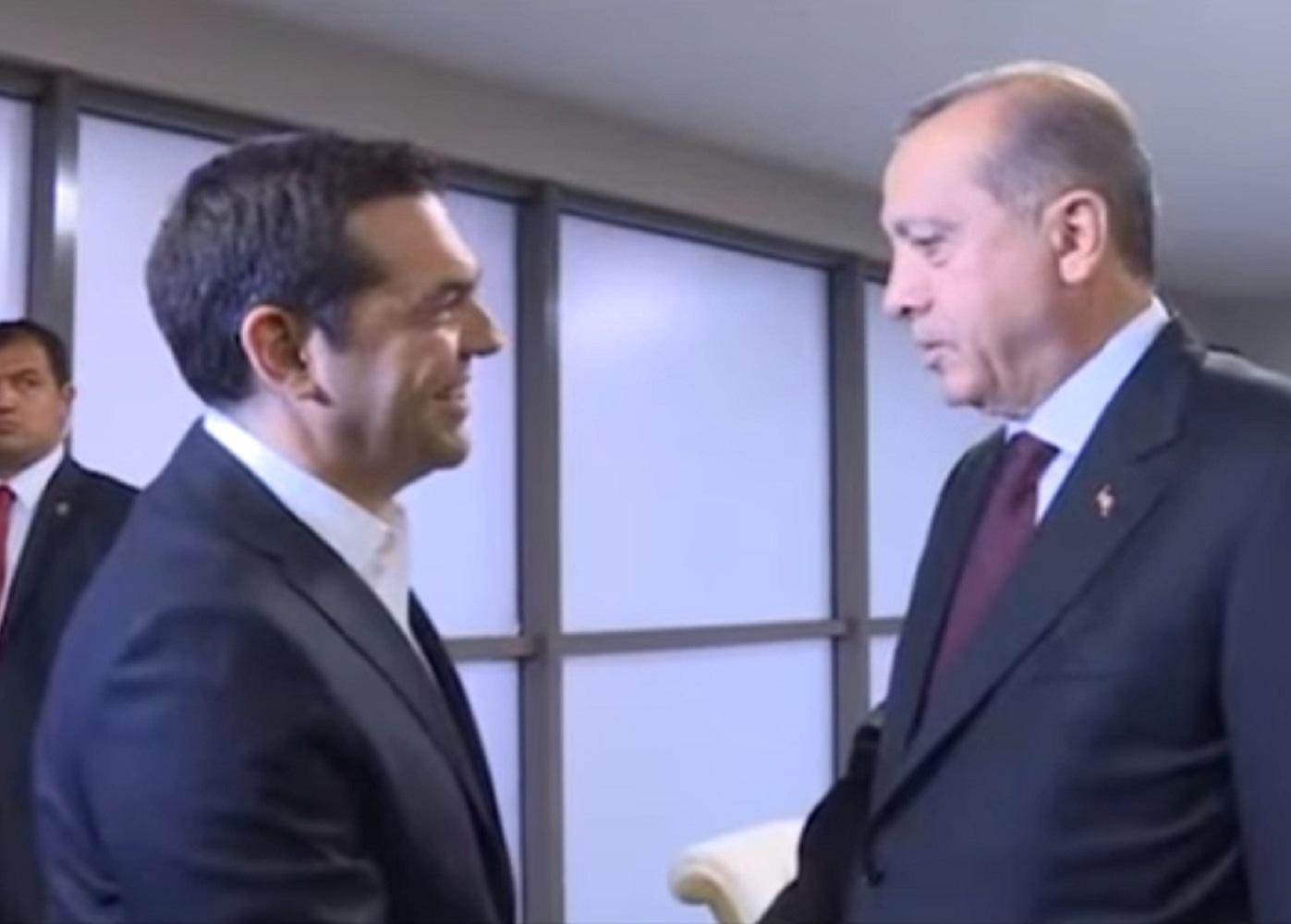 Çipras, Erdoğan ile Görüştü