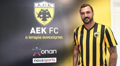AEK takımı eski Beşiktaşlı Almeida'yı transfer etti