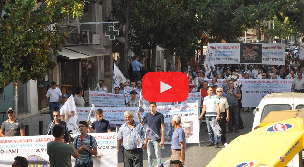 VİDEO   Batı Trakya Türkleri 28 yıl sonra yeniden yürüdü