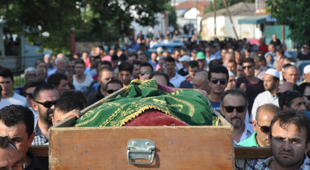 Terör kurbanı Hüseyin doğduğu köyde defnedildi