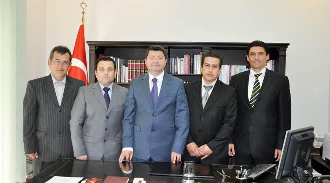 Encümenler Birliği Yönetimi nezaket ziyaretleri başladı