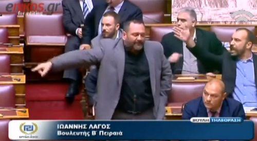 Mecliste Altın Şafak'çılardan Milletvekilimize Saldırı