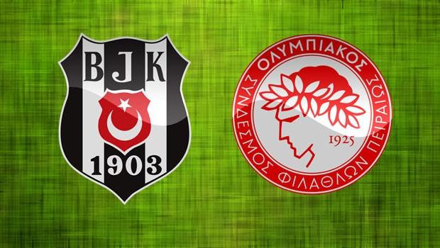 Beşiktaş, Olimpiakos ile Karşılaşacak