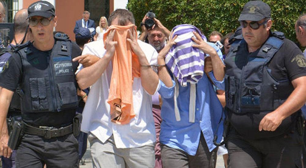 Dedeağaç'a inen 8 FETÖ'cünün Türkiye'ye iade talebi Yunanistan'a ulaştı