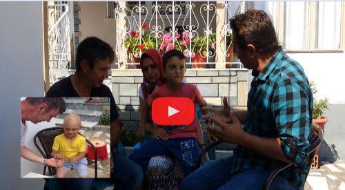 Çepellili Furkan'ın ailesi minnettar! (VİDEO)
