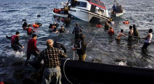 Ege'de göçmen teknesi battı: 1 ölü, 2 kayıp