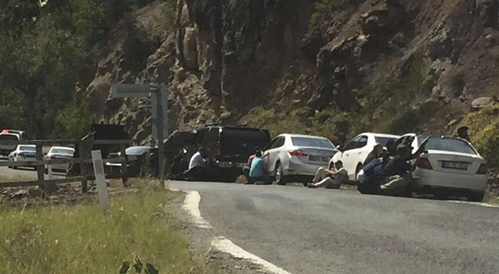 CHP Genel Başkanı Kılıçdaroğlu'nun konvoyuna saldırı
