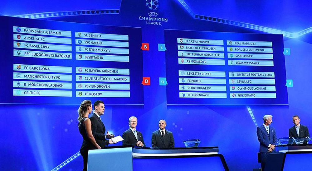 Beşiktaş'ın Şampiyonlar Ligi'ndeki fikstürü belirlendi