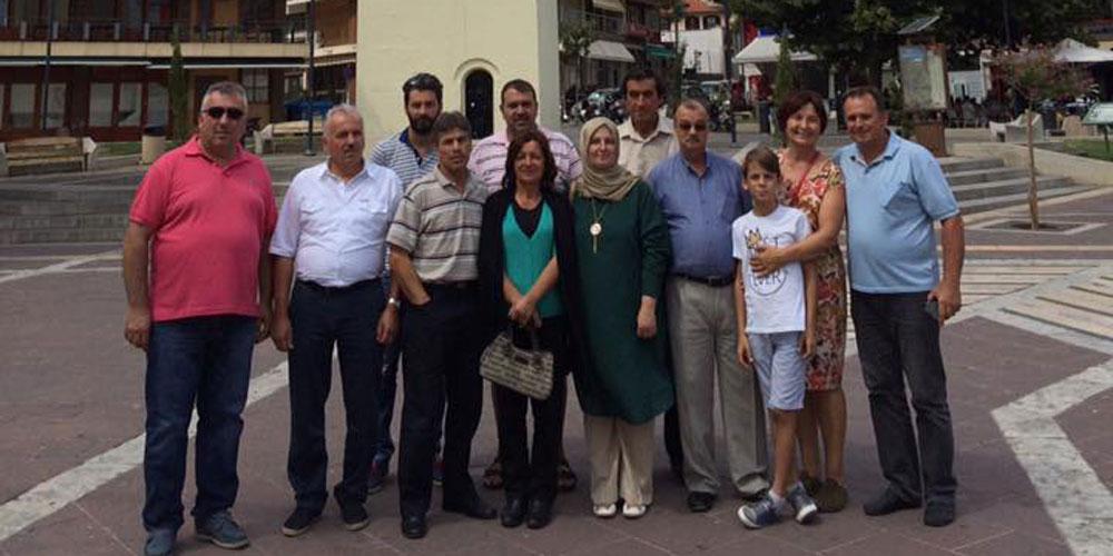 TKG Koordinatörü Birsen Karaloğlu azınlık işadamlarıyla buluştu