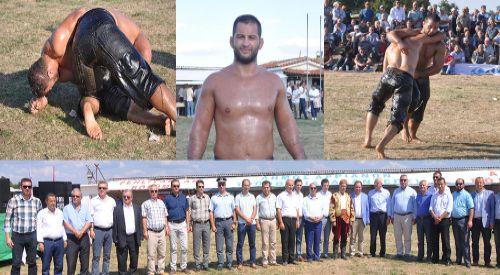 Alantepe'de yıllardır güreşti sonunda başpehlivan oldu