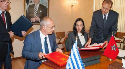 Fas ve Yunanistan arasında işbirliği anlaşması