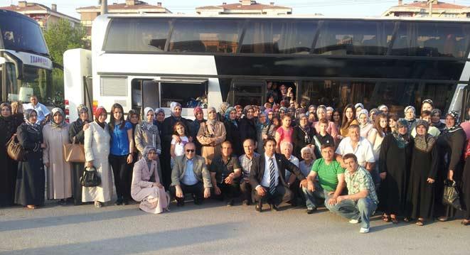 DEB Partisi İskeçe İl Teşkilatı'ndan Edirne gezisi