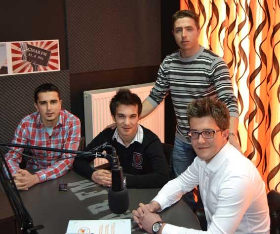 GAT yöneticileri ÇINAR FM'in konuğu oldular KAN BAĞIŞI CAN BAĞIŞI kampanyasını anlattılar