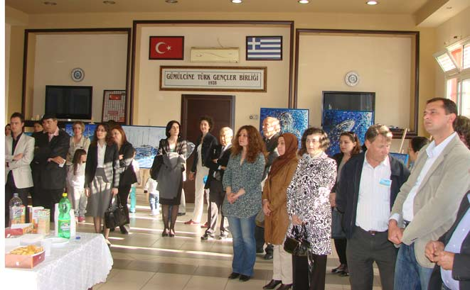 Kosovalı sanatçı Reşit İsmet GTGB'de sergi açtı