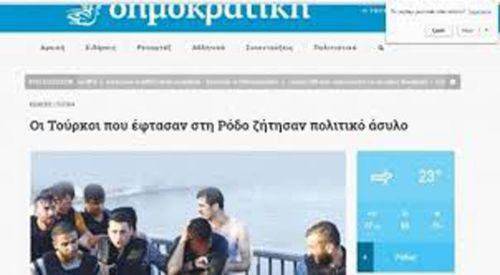 Yunanistan'a sığınan 10 FETÖ'cü tutuklandı