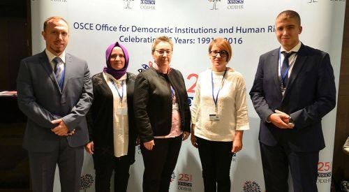 Batı Trakya Türk Azınlığı'na yönelik hak ihlalleri AGİT toplantısında dile getirildi
