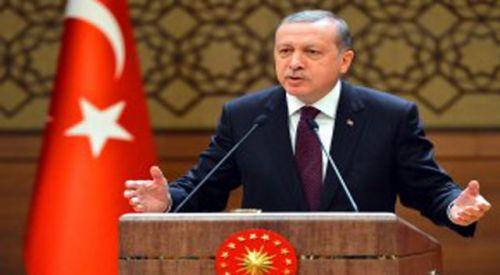Erdoğan: Birileri Lozan'ı zafer diye yutturmaya çalıştı; adaları biz Lozan'da verdik