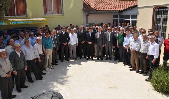 Cuma günü Kalfa köyünü önemli misafirler ziyaret etti