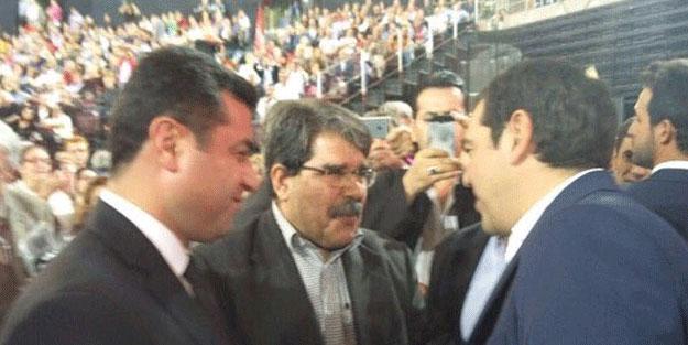 Terör örgütü PKK'nın siyasi uzantıları SYRİZA kongresinde