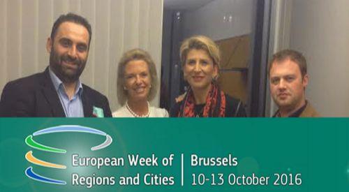 """""""Biz...Şehir"""" Listesi heyeti Brüksel'de toplantılara katıldı"""