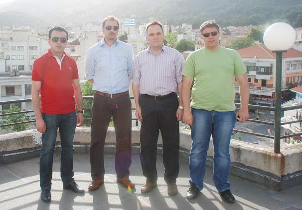 Makedonya'dan önemli misafirler Batı Trakya'daydı