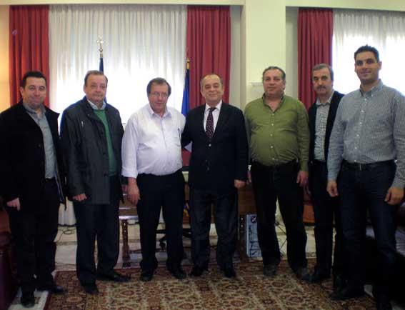 Milletvekili Ahmet Hacıosman, Rodop Esnaf ve Sanatkarlar Odası'nı ziyaret etti