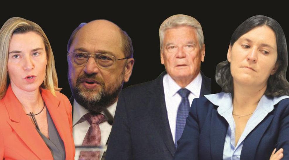 Darbede susan terör besleyicisi AB, HDP(KK) için 'çığlık' atıyor