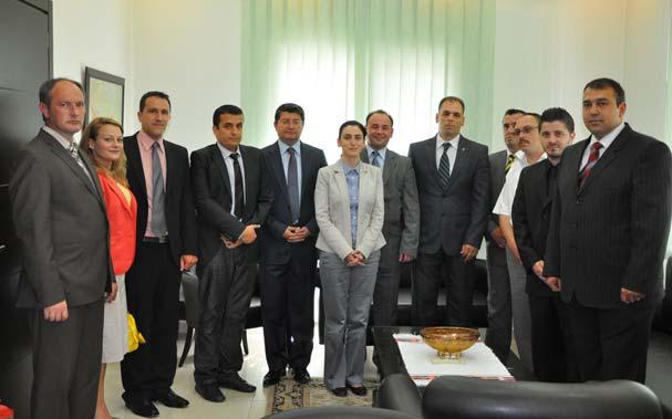 İTB Yönetimi Başkonsolos Mustafa Sarnıç'ı Makamında Ziyaret Etti