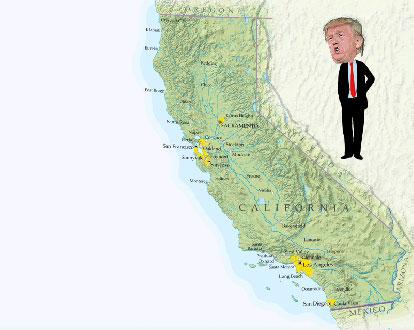 ABD'de şok gelişme: California eyaletinde ABD'den ayrılma kampanyası