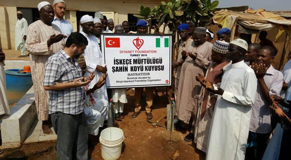 Batı Trakya'nın kalbi Şahin köyünden Nijerya'ya yardım köprüsü