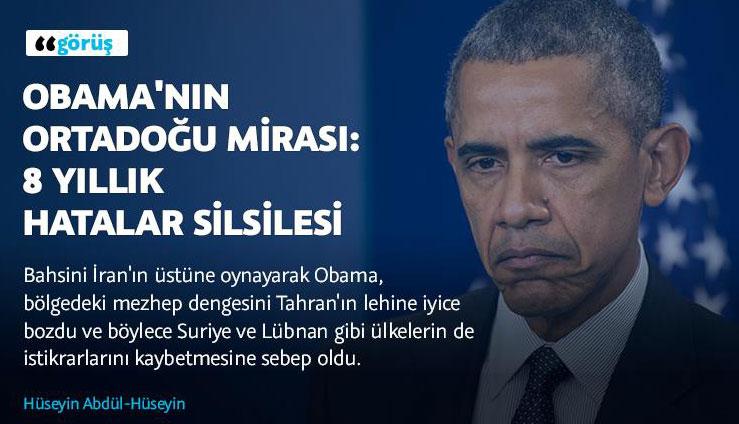 Obama'nın Ortadoğu mirası: 8 yıllık hatalar silsilesi