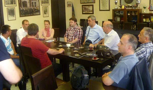 Sakarya Üniversitesi'nden İskeçe Türk Birliği'ne Ziyaret