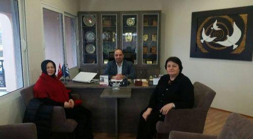 Uluslararası Köprü Derneği'nden DEB Partisi'ne ziyaret