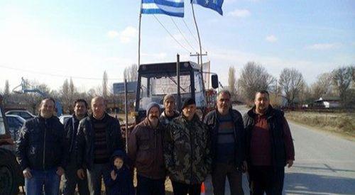 Basırlıköy çiftçileri eylemlere destek veriyor