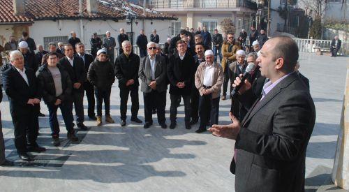 DEB Partisi Şahin köyünü ziyaret etti