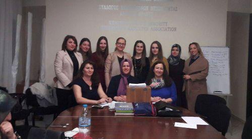 BTAYTD Kadınlar Kolu seçimleri yapıldı