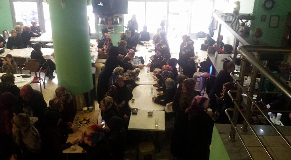 Şahinli bayanlardan Okutan Anne Projesine büyük destek