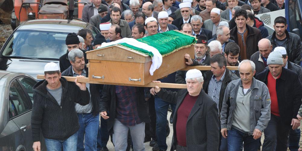Eski belediye başkanı İbrahim Şerif'in acılı günü
