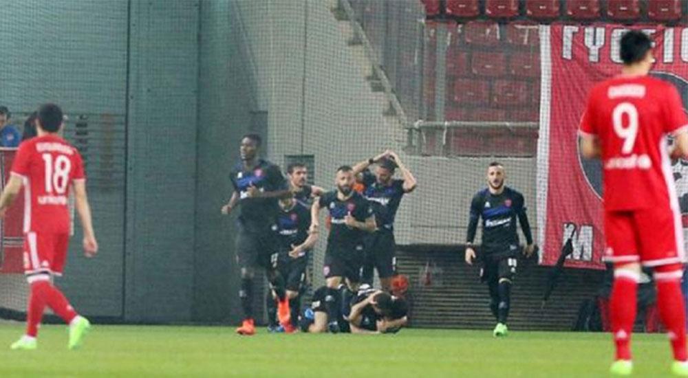 Beşiktaş'ın rakibi Olympiakos evinde kaybetti