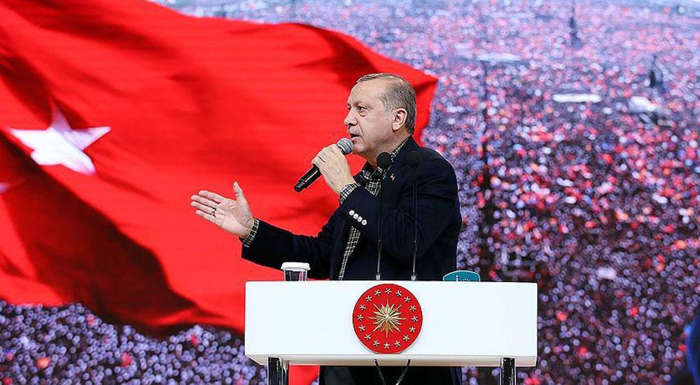 Erdoğan: İstersem yarın gelir dünyayı ayağa kaldırırım