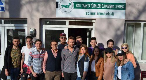 BTTDD Edirne temsilciliğinde kermes düzenlendi