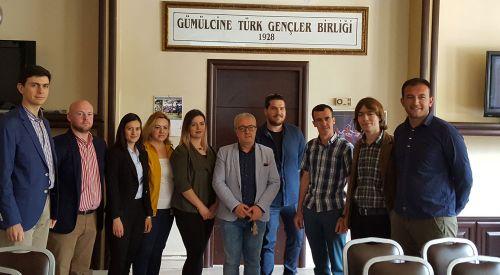 Gümülcine Türk Gençler Birliği'nin yeni başkanı Necat Ahmet