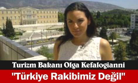 Yunan bakan: Türkiye'yi ortak rakip değil, ortak görüyorum