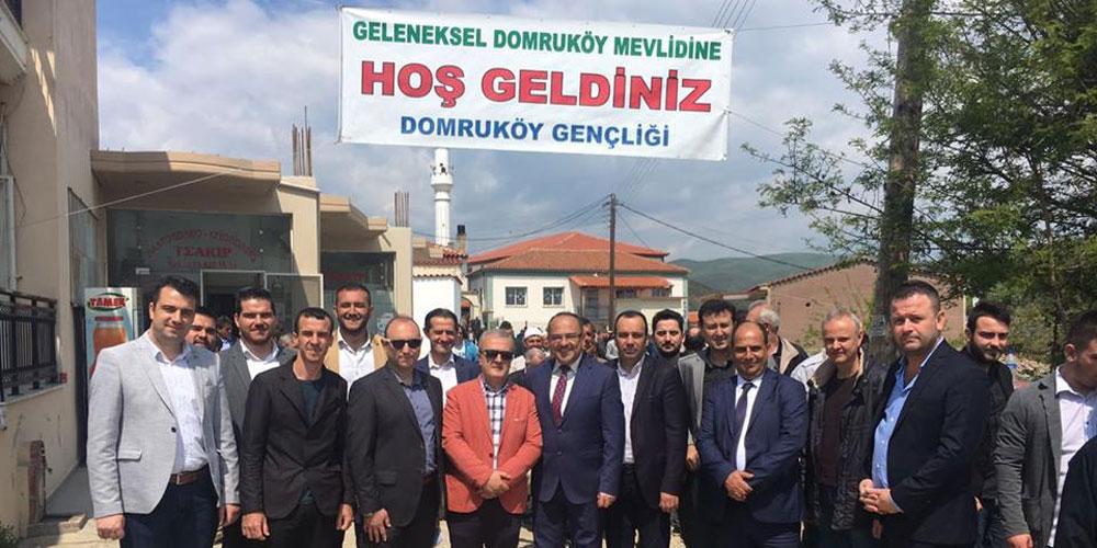 Domruköy'de gelenek bozulmadı