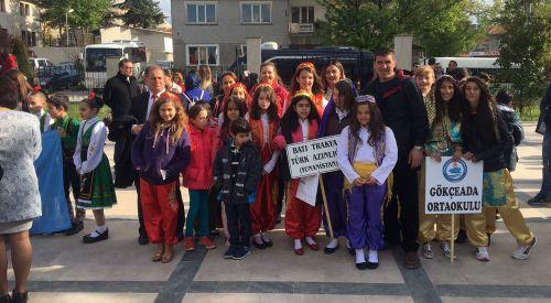 GTGB ekibi Edirne'de Balkan Çocuk Şenliği'ne katıldı