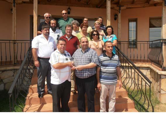 Rodos Müslümanları Kardeşlik ve Kültür Derneği DEB Partisi Yetkilileri ile Yemekte Buluştular