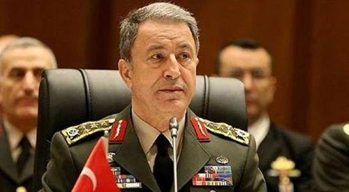 Türkiye Genelkurmay Başkanı Hulusi Akar Atina'da